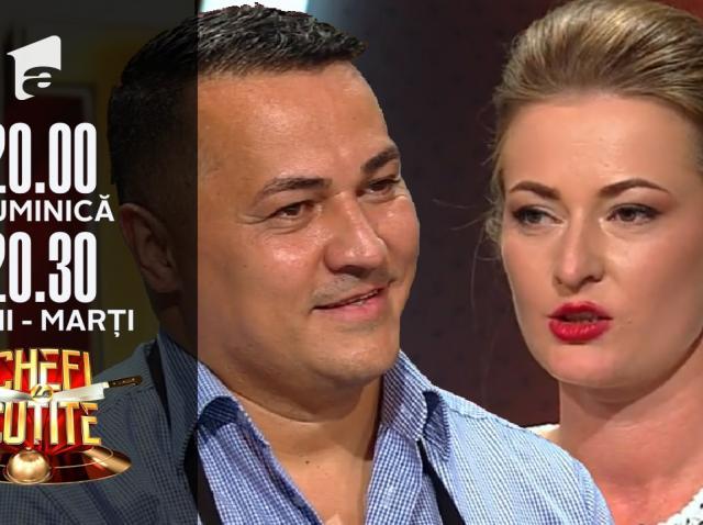 "Sorina Gabor și Florin Gabor Gherman, super preparate la Chefi la cuțite: ""Le-am adus savarine"""