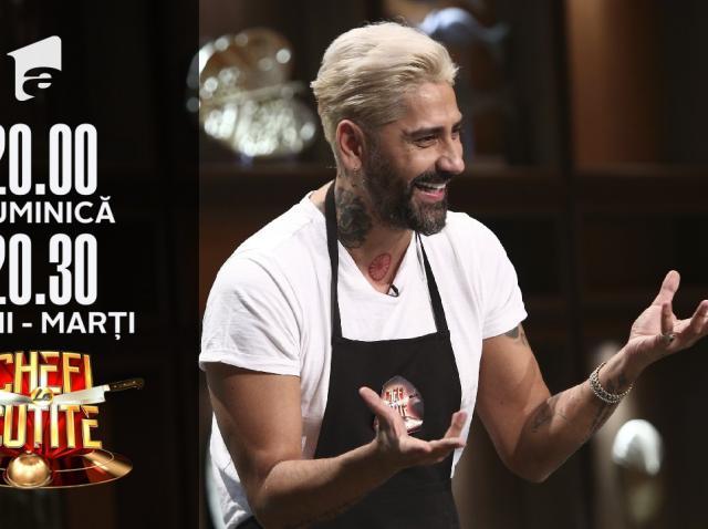 """Connect-R a venit să gătească la Chefi la cuțite: """"Am venit să va prepar tortul săracului"""""""