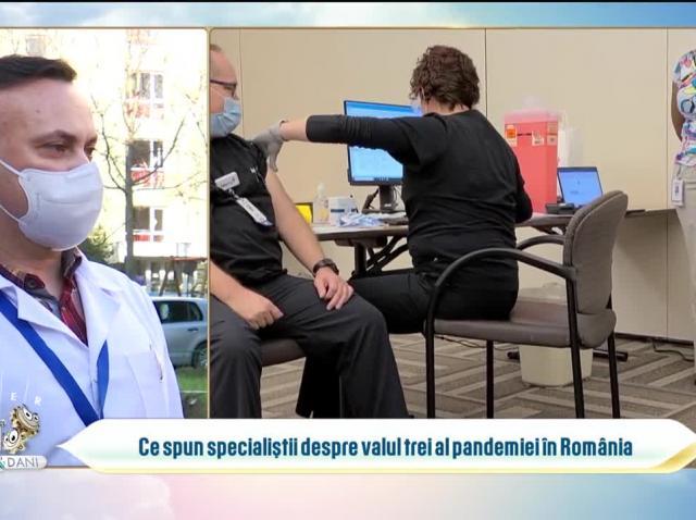 Ce spun specialiștii despre valul trei al pandemiei în România