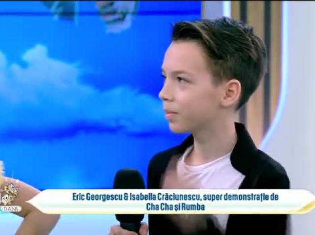 Eric Georgescu și Isabella Crăciunescu, super demonstrație de Cha Cha și Rumba