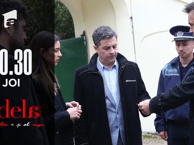 Adela, episodul 16. Poliția a venit acasă la Paul Andronic