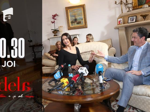 """Adela, episodul 15. Paul Andronic, conferință de presă: """"Andreea este fata mea"""""""