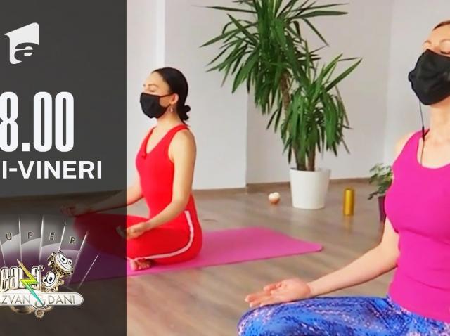 Yoga, modul perfect de a-ți antrena corpul și mintea, în același timp