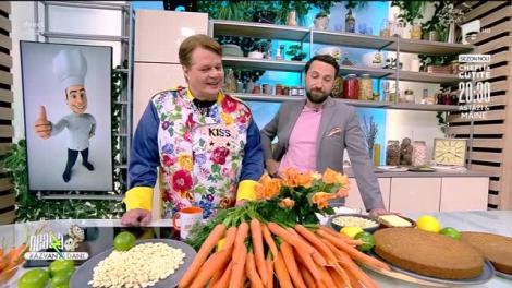 Rețeta Zilei: Tort de morcovi - ieftin și delicios