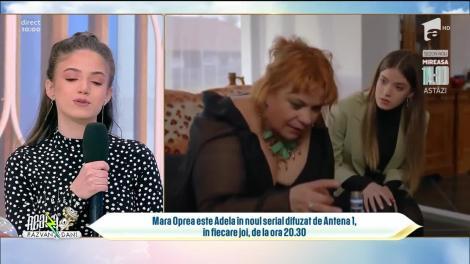 """Cristina Ciobănașu si Mara Oprea, detalii inedite din culisele serialului """"Adela"""""""
