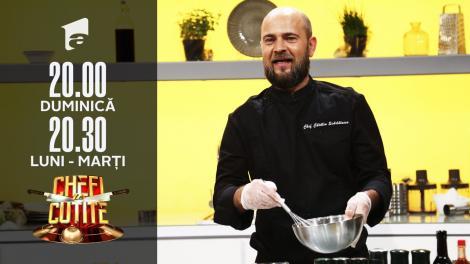 Cosmin Seleși a primit cuțitul pentru urs. Chef Florin Dumitrescu: Ai băgat frișcă în ciorbă!