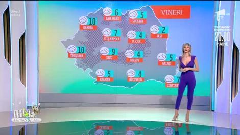 Prognoza Meteo, 12 martie 2021. Temperatura maximă va fi de 4 grade Celsius în București
