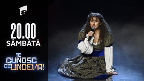 """Mirela Vaida se transformă în Les Missrables - """"I Dreamed a Dream"""", la Te cunosc de undeva!"""