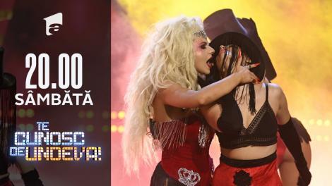 """Cristina Vasiu se transformă în Christina Aguilera - """"Lady Marmalade"""", la Te cunosc de undeva!"""
