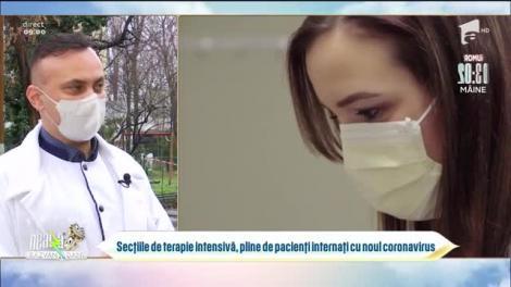 Valul trei al pandemiei. Nu mai sunt locuri la secțiile de ATI