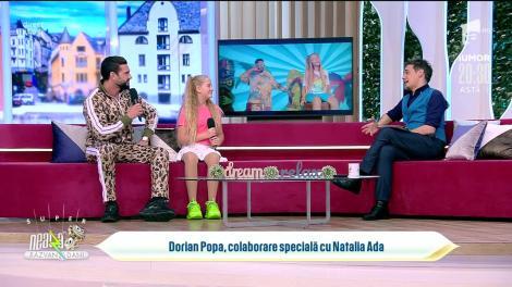 Dorian Popa, colaborare specială cu Natalia Ada: Îmi place să susțin copiii talentați