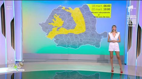 Prognoza Meteo, 19 martie 2021. Cum va fi vremea în România și care sunt previziunile ANM pentru astăzi