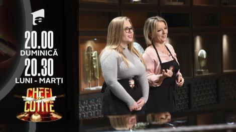 Mihaela Aniței și Giorgia Politziki, jurizate de chefi într-un stil total diferit. Chef Dumitrescu: Mâncare de bebeluși!