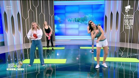Antrenament full body. Fitness cu Diana Stejereanu