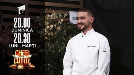 Pavel Gherghe, așteptări foarte mari: Îmi doresc Cuțitul de Aur. Am venit să câștig Chefi la Cuțite!