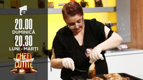 Mâncare ca în pușcărie, la Chefi la Cuțite! Maria Prună a pregătit ciorbă cu salam, gătită cu fierbătorul