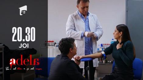 Adela, episodul 21. Andreea donează sânge pentru testul ADN