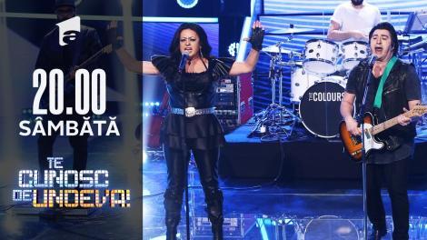 """Adriana Trandafir și Romică Ţociu se transformă în Antonia și Cornel Ilie - """"Pleacă"""", la Te cunosc de undeva!"""