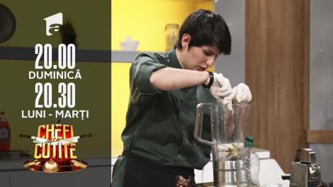 Cristina Mălai, de profesie bucătar chef, vrea marele premiu Chefi la Cuțite