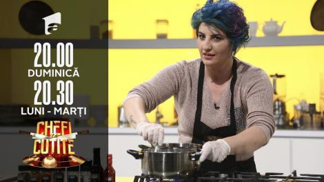 Cosmina Tudor, operator bandă, face o prăjitură specială pentru Florin Dumitrescu: Vreau să-i explodeze papilele gustative!