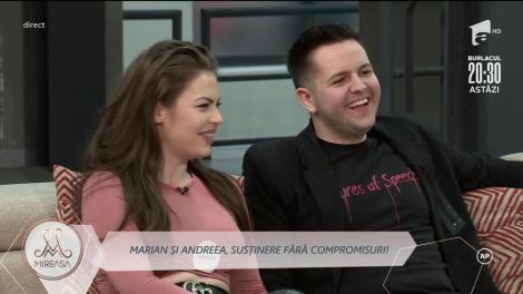Marian și Andreea, mai fericiți ca niciodată!