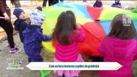 Cum se face testarea copiilor de grădiniță
