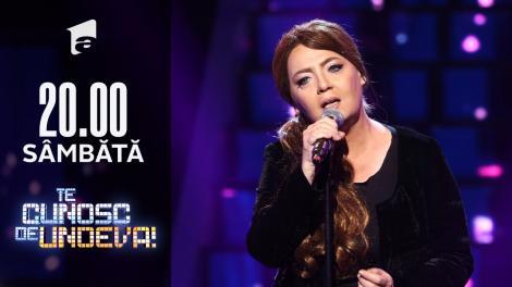 Emilia Popescu se transformă în Adele - Make You Feel My Love