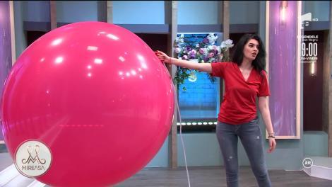 Băieți contra fete, jocul săptămânii din casa Mireasa. Cine a câștigat provocare cu baloane uriașe
