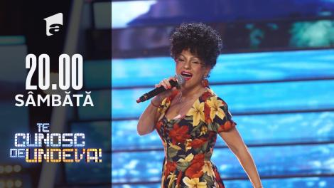 Cristina Vasiu se transformă în Kaoma - Lambada