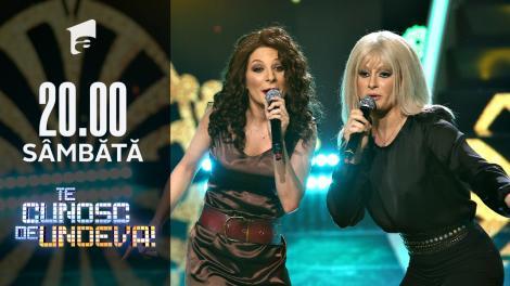 Ana Baniciu și Raluka se transformă în Raffaella Carra & Gloria Estefan - Conga