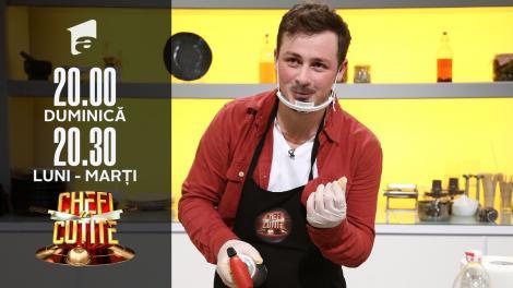 Florin Revesz, inginerul care i-a impresionat pe chefi. Chef Dumitrescu: E o nebunie!