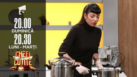 Narymen Abessi, doctorița pasionată de bucătărie. Chef Scărlătescu: E un meniu pe opulență