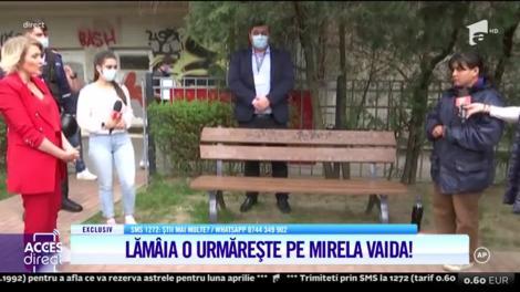 Mirela Vaida, față în față cu Lămâia, complicea atacatoarei din platoul Acces Direct