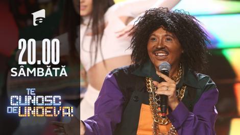 Mirela Vaida se transformă în Gaby - El Meneaito