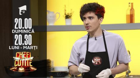 Producătorul Alex Parker, show în bucătăria Chefi la Cuțite: Am colaborat cu 90% dintre artiștii români cunoscuți