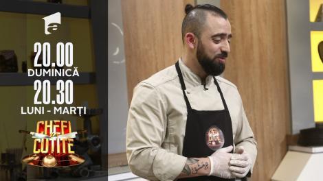 Al Hamoui Moument revine la Chefi la cuțite cu preparat arăbesc. Chef Bontea: E foarte bun!
