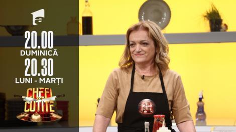 Athina Fidani a adus bucătăria grecească la Chefi la cuțite. Jurații sunt impresionați