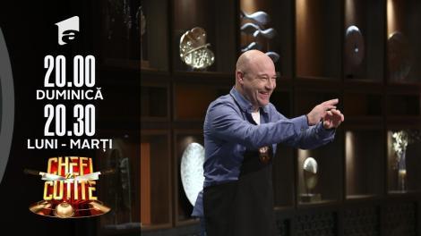 Mihai Georgescu-Miță de la Bere Gratis, show muzical cu chefii. Jurații sunt puși să cânte!