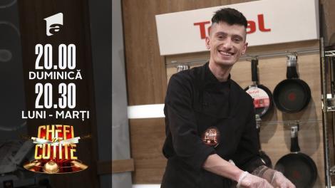 Horia Boteanu, de la iUmor la Chefi la cuțite. Chef Dumitrescu: Nu înțeleg combinația din farfurie