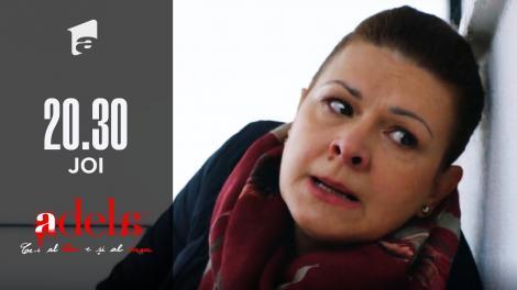 Adela, episodul 29. Gina a aflat cine este tatăl adevărat al Adelei. Cum a căzut pe scări