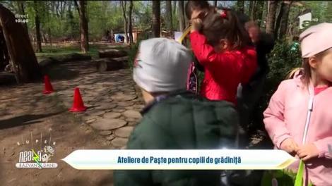 Ateliere de Paște pentru copiii de grădiniță