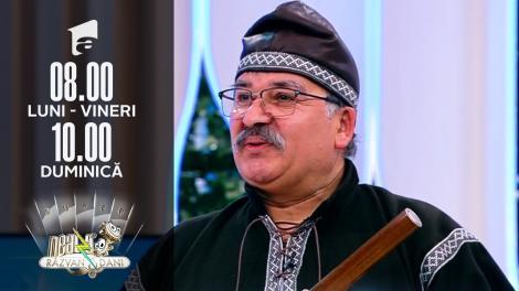 Constantin Ghinea-Dumitrache cântă la caval, în direct, la Super Neatza