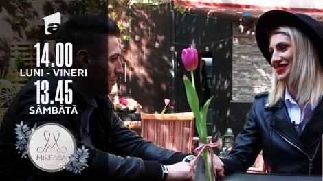 Maria și Liviu, o întâlnire în afară casei Mireasa!
