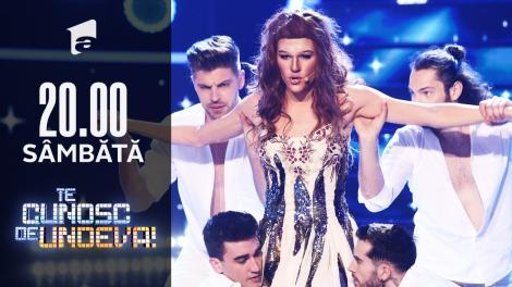 Radu Ştefan Bănică se transformă în Helena Paparizou - My number one