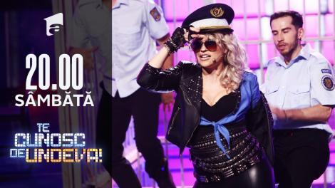 Mirela Vaida se transformă în Alexandra Stan - Mr. Saxobeat