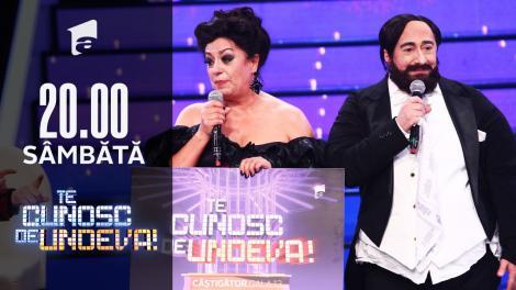 Adriana Trandafir și Romică Ţociu au câștigat a XIII-a ediție a sezonului 16 Te cunosc de undeva!