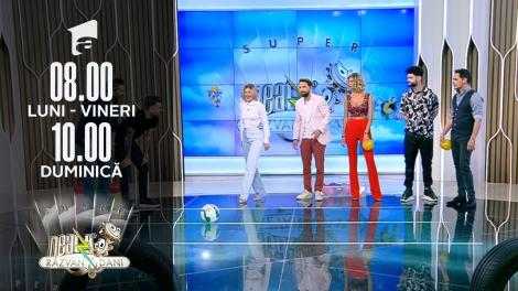 Provocarea Messi vs. Ronaldo la Neatza cu Răzvan și Dani cu Edward Sanda si Anastasia
