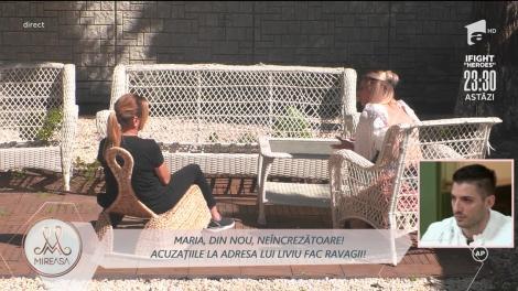 Maria și Liviu, bulversați de mesaje!