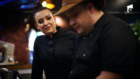Chef Roxana Blenche și Răzvan Babană gătesc Cotlete de berbecuț alături de un Pesmet aromatizat