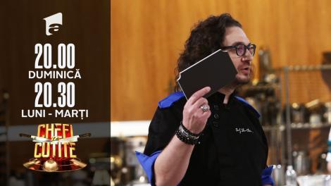 Chef Florin Dumitrescu a folosit prima amuletă roșie! L-a pus pe Scărlătescu să gătească pentru echipa sa!